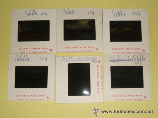 Fotografía antigua: CALELLA GERONA LOTE 6 DIAPOSITIVAS KODAK AÑOS 60 REALIZADAS POR TURISTA INGLES - Foto 2 - 34402364