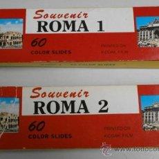 Fotografía antigua: DIAPOSITIVAS DE ROMA . Lote 34642120
