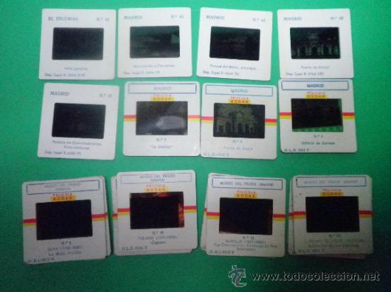 LOTE DIAPOSITIVAS MADRID (8) Y MUSEO DEL PRADO (14) (Fotografía Antigua - Diapositivas)