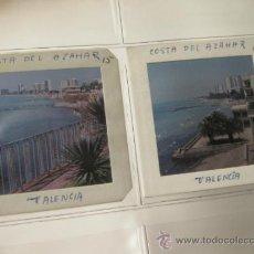 Fotografía antigua: 2 FOTOGRAFIAS DE 6 X 6 DE VALENCIA - AÑOS 70. Lote 35415585