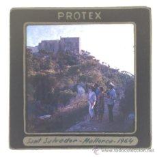Fotografía antigua: SANT SALVADOR MALLORCA DIAPOSITIVA PROTEX. Lote 36112891