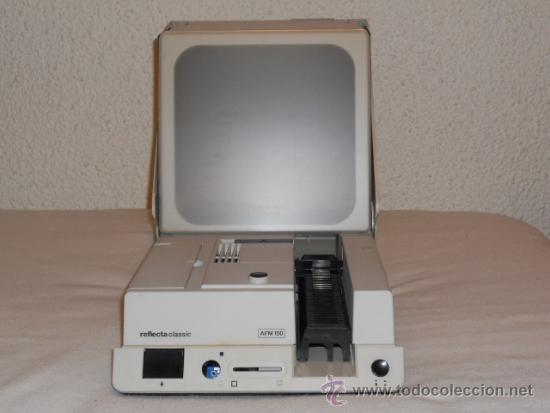REFLECTA CLASSIC AFM150 VISOR Y PROYECTOR DIAPOSITIVAS CON PANTALLA REFLECTANTE (Fotografía Antigua - Diapositivas)