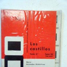 Fotografía antigua: DIAPOSITIVAS ENOSA . LOS CASTILLOS . 16 DIAPOSITIVAS EN COLOR.. Lote 38224682