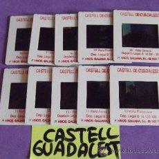 Fotografía antigua: DIAPOSITIVAS ANTIGUAS-ESPAÑA-CASTELL DE GUADALEST-ALICANTE. Lote 38481796