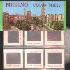 Fotografía antigua: 12 DIAPOSITIVAS * MILAN *. Lote 39008330