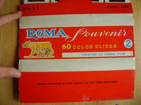 Fotografía antigua: Lote souvenir 60 diapositivas Vaticano + Roma + Venezia Venecia. Kodak film - Foto 6 - 39202104