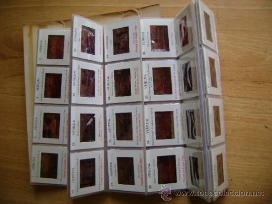 Fotografía antigua: Lote souvenir 60 diapositivas Vaticano + Roma + Venezia Venecia. Kodak film - Foto 9 - 39202104