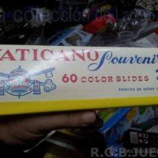 Fotografía antigua: ANTIGUA COLECCION DE 60 DIAPOSITIVAS VATICANO 2. Lote 39578638