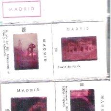 Fotografía antigua: LOTE DE 10 DIAPOSITIVAS DE MADRID. AÑOS 70. Lote 39662829