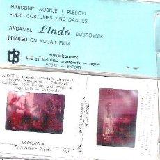 Photographie ancienne: LOTE DE 6 DIAPOSITIVAS DE DUBROVNIK.(LA ANTIGUA YUGOSLAVIA). Lote 39664675