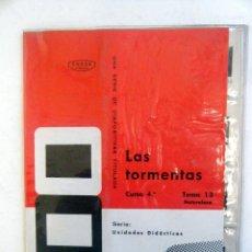 Fotografía antigua: DIAPOSITIVAS ENOSA. LAS TORMENTAS.. Lote 39955290