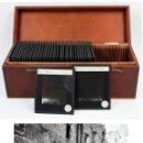 Fotografía antigua: POBLET, TARRAGONA, 1910'S. LOTE DE 36 POSITIVOS 8,5X10CM. ENCAPSULADOS PARA PROYECTOR, VER FOTOS.. Lote 41525907