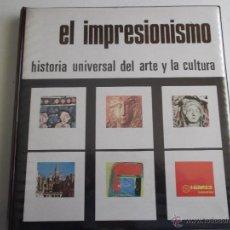 Fotografía antigua: CARPETA DE DIAPOSITIVAS DEL IMPRESIONISMO CONTENIENDO 36 DIAPOSITIVAS DE LA EDITORIAL HIARES.. Lote 41568987