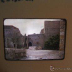 Fotografía antigua: PEÑISCOLA CASTELLON DIAPOSITIVA 1957. Lote 43566105