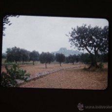 Fotografía antigua: PEÑISCOLA CASTELLON DIAPOSITIVA 1957. Lote 43566158