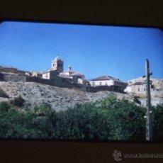 Fotografía antigua: DUEÑAS PALENCIA DIAPOSITIVA 1957. Lote 43566178