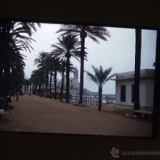 Fotografía antigua: SITGES BARCELONA DIAPOSITIVA 1957. Lote 43566201