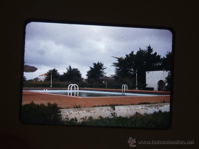 PEÑISCOLA CASTELLON DIAPOSITIVA 1957 (Fotografía Antigua - Diapositivas)