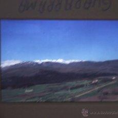Fotografía antigua: SIERRA DE GUADARRAMA MADRID DIAPOSITIVA AÑOS 60. Lote 44211095