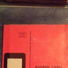 Fotografía antigua: ALONSO CANO. DIAPOSITIVAS. 1966. . Lote 45114621
