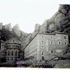 Fotografía antigua: FOTOGRAFIA ANTIGUA DE MONTSERRAT, MIDE 9 X 6 CM . Lote 45721154