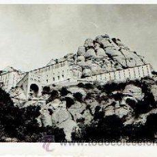 Fotografía antigua: FOTOGRAFIA ANTIGUA DE MONTSERRAT MIDE 8,5 X 6,5 CM. Lote 45721205