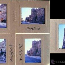 Fotografía antigua: 5 DIAPOSITIVES KODACHROME D'HOSTALRICH MURALLA 1973. Lote 45868189