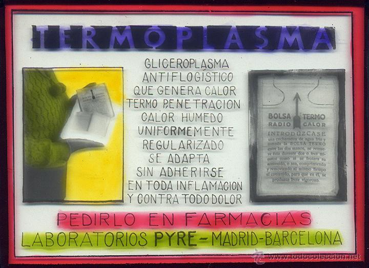 DIPOSITIVAS PUBLICIDAD EN CINE LABORATORIOS PYRE (Fotografía Antigua - Diapositivas)