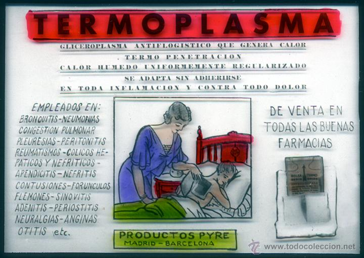 Fotografía antigua: Dipositivas Publicidad en cine laboratorios Pyre - Foto 2 - 46980535