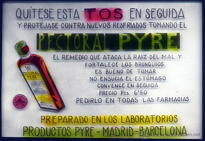 Fotografía antigua: Dipositivas Publicidad en cine laboratorios Pyre - Foto 3 - 46980535