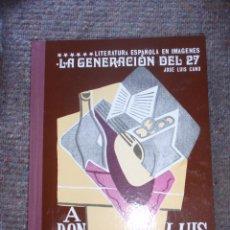 Fotografía antigua: LA GENERACIÓN DEL 27. 60 DIAPOSITIVAS. Lote 47151060