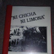 Fotografía antigua: NI CHICHA NI LIMONA. DEDICADO A LA COMUNIDAD GITANA DE LEÓN. TIENE 69 DIAPOSITIVAS. Lote 47203006