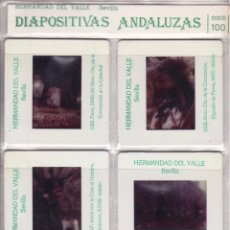 Fotografía antigua: SEMANA SANTA SEVILLA - DIAPOSITIVAS ANDALUZAS - SERIE 100 - HERMANDAD DEL VALLE. Lote 115434154