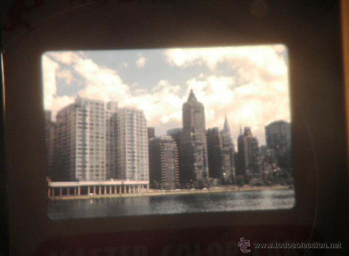 Fotografía antigua: LOTAZO DE 200 DIAPOSITIVAS DE NEW YORK AÑO 1970. - Foto 3 - 47403527