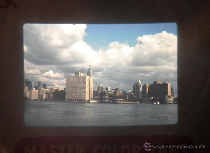 Fotografía antigua: LOTAZO DE 200 DIAPOSITIVAS DE NEW YORK AÑO 1970. - Foto 4 - 47403527