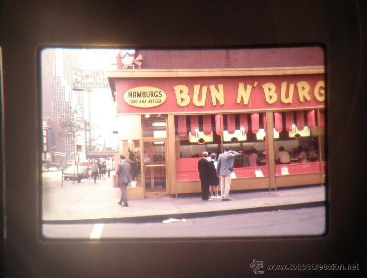Fotografía antigua: LOTAZO DE 200 DIAPOSITIVAS DE NEW YORK AÑO 1970. - Foto 7 - 47403527