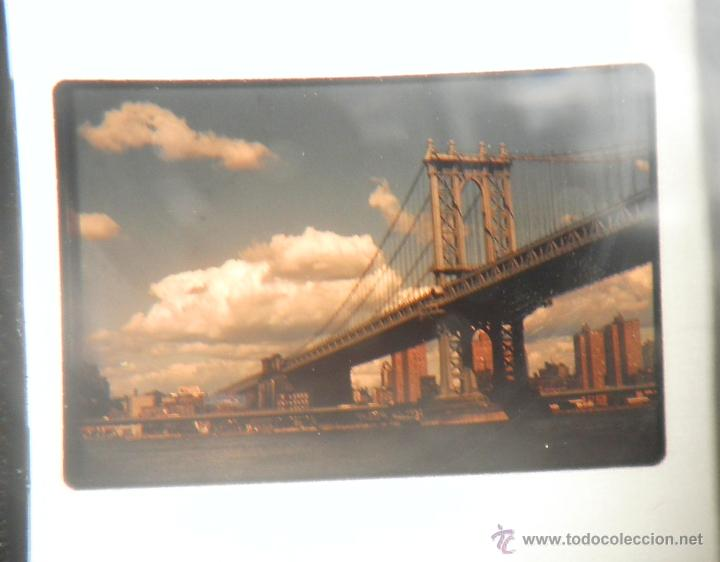 Fotografía antigua: LOTAZO DE 200 DIAPOSITIVAS DE NEW YORK AÑO 1970. - Foto 9 - 47403527