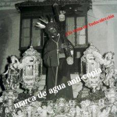 Fotografía antigua: SEMANA SANTA SEVILLA . SEÑOR DEL GRAN PODER . FINAL AÑOS 50 . CLICHÉ-NEGATIVO ORIGINAL. Lote 48602590
