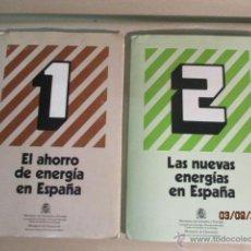 Fotografía antigua: EL AHORRO DE ENERGIA DE ESPAÑA, SON 2 NUMEROS. 48 DIAPOSITIVAS. DE 1982 . Lote 51151536