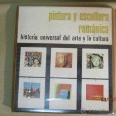 Fotografía antigua: 36 DIAPOSITIVAS: PINTURA Y ESCULTURA ROMANICA - HISTORIA UNIVERSAL DEL ARTE Y LA CULTURA. Lote 51152085