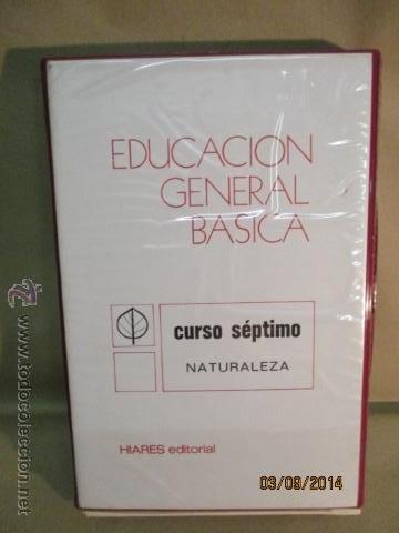 EDUCACION GENERAL BASICA - CURSO SEPTIMO NATURALEZA - 14 TOMOS - 20 DIAPOSITIVAS POR TOMO - HIARES (Fotografía Antigua - Diapositivas)