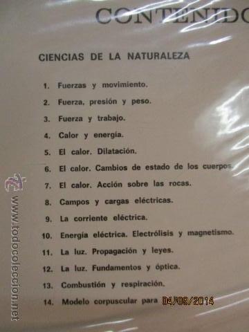 Fotografía antigua: Educacion General Basica - curso septimo naturaleza - 14 tomos - 20 diapositivas por tomo - HIARES - Foto 2 - 51157399