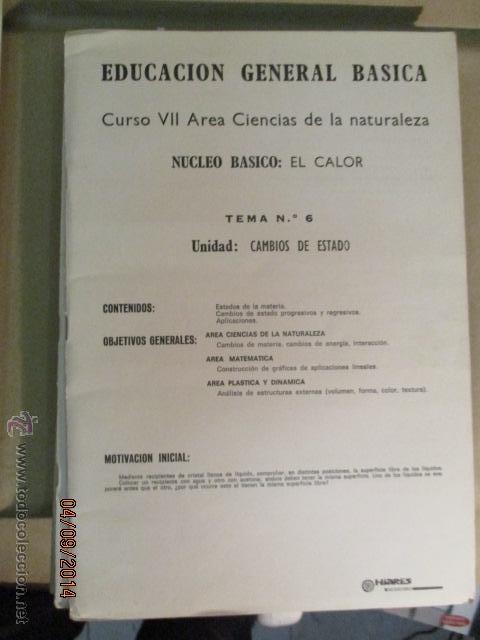 Fotografía antigua: Educacion General Basica - curso septimo naturaleza - 14 tomos - 20 diapositivas por tomo - HIARES - Foto 12 - 51157399