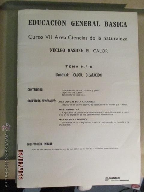 Fotografía antigua: Educacion General Basica - curso septimo naturaleza - 14 tomos - 20 diapositivas por tomo - HIARES - Foto 13 - 51157399