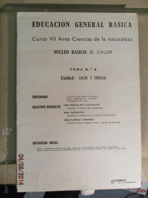 Fotografía antigua: Educacion General Basica - curso septimo naturaleza - 14 tomos - 20 diapositivas por tomo - HIARES - Foto 14 - 51157399