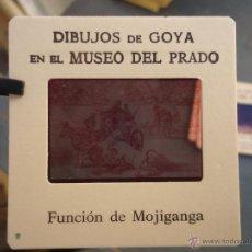 Fotografía antigua: OFICIAL ORIGINAL DIAPOSITIVA DIBUJOS DE GOYA EN EL MUSEO DEL PRADO POR SANZ VEGA. Lote 51332686
