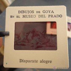 Fotografía antigua: OFICIAL ORIGINAL DIAPOSITIVA DIBUJOS DE GOYA EN EL MUSEO DEL PRADO POR SANZ VEGA . Lote 51339812