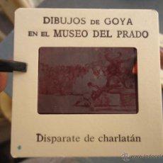 Fotografía antigua: OFICIAL ORIGINAL DIAPOSITIVA DIBUJOS DE GOYA EN EL MUSEO DEL PRADO POR SANZ VEGA . Lote 51339818