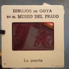 Fotografía antigua: OFICIAL ORIGINAL DIAPOSITIVA DIBUJOS DE GOYA EN EL MUSEO DEL PRADO POR SANZ VEGA . Lote 51339822