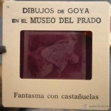 Fotografía antigua: OFICIAL ORIGINAL DIAPOSITIVA DIBUJOS DE GOYA EN EL MUSEO DEL PRADO POR SANZ VEGA . Lote 51339850